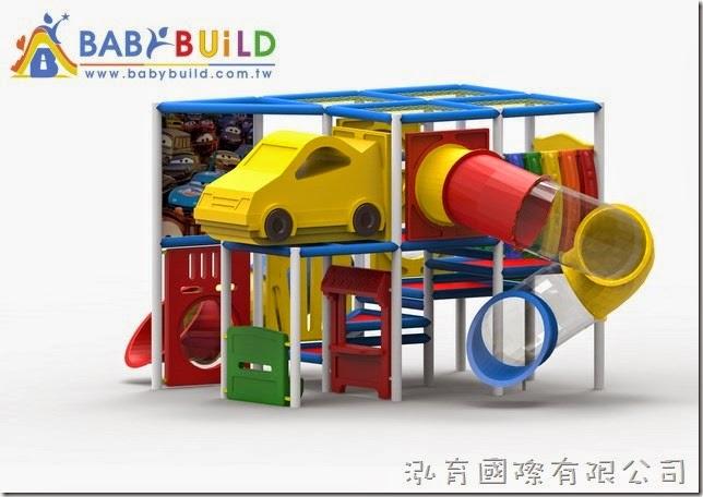 BabyBuild 室內3D泡管兒童遊具規劃設計圖