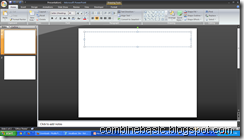 MS PowerPoint Blackcolor