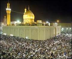 Mausolée de l'Imam hussain à Karbala