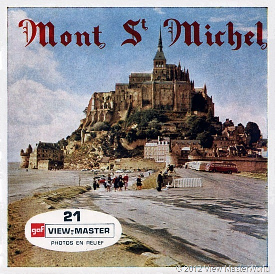 View-Master Mont St. Michel (C197), packet cover