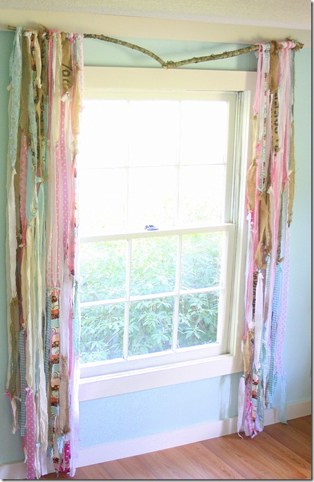 studio gypsy curtains, quirky farmhouse style