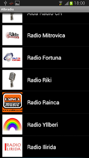 AlbRadio shqip - screenshot thumbnail
