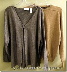 Cotton & cashmere sweaters