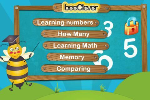 beeNumbers Kids Math 123 Lite