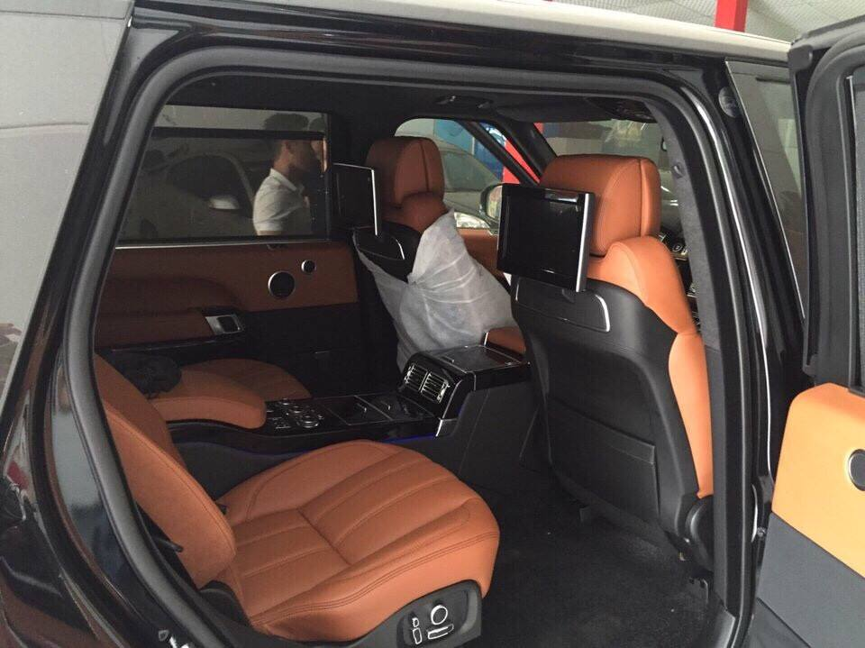 Nội Thất Xe Land Rover Range Rover Autobiography LWB Full Oftion màu đen 04