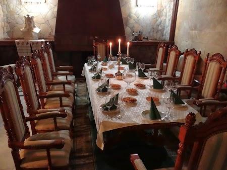 Drumul vinului Basarabia: Sala degustare la Milestii Mici