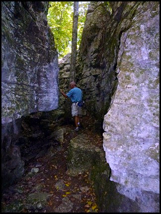 11 - Climbing out of the Stones