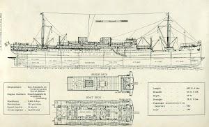 Planos del CABO SAN AGUSTIN. THE MOTOR SHIP. Año 1931.jpg