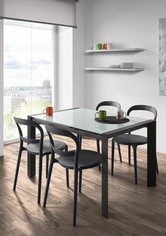 Mesas extensibles para el comedor una soluci n muy - Mesas de comedor para espacios reducidos ...