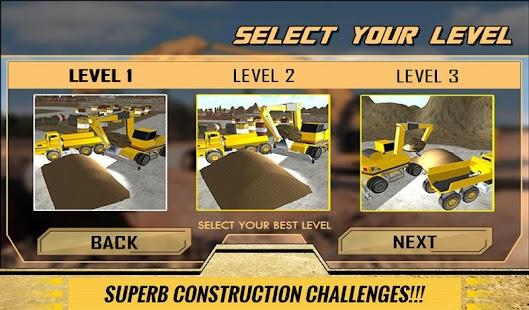 Sand-Excavator-Dump-Truck-Sim 14