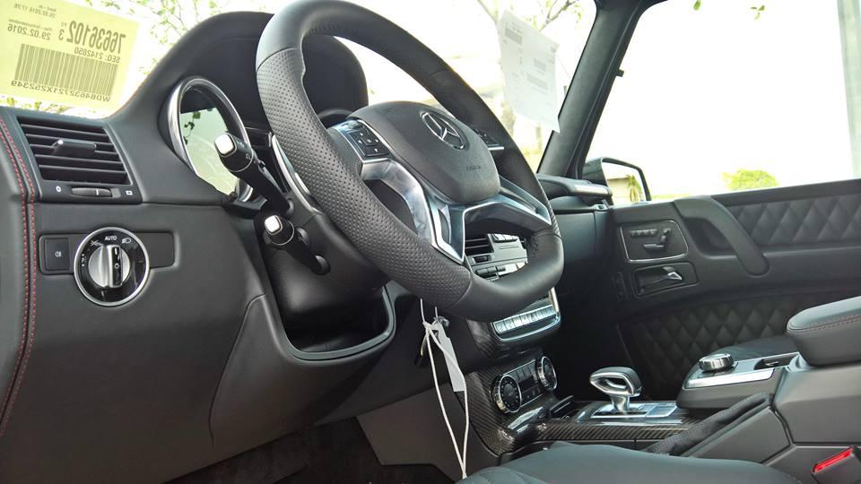 xe Mercedes Benz G63 AMG All New màu đỏ 010
