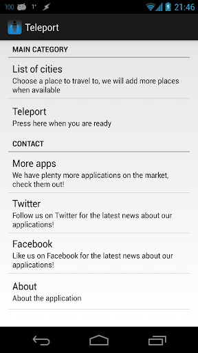 The Teleport Transporter-Beta