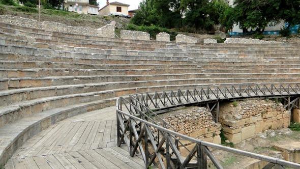 Teatro Antigo de Ohrid