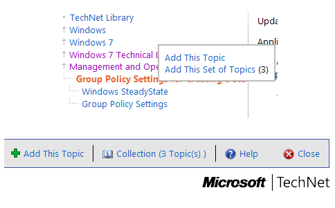 Compile and Download Microsoft TechNet Articles as PDF Books