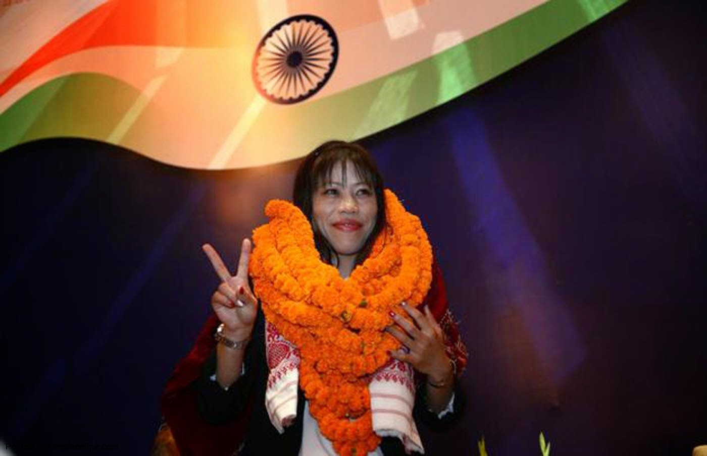 MaryKom wins 7th Gold AsianGames 2014 India Day12 10Alone Vikrmn CA Vikram Verma Chartered Accountant LifeQuotes Author