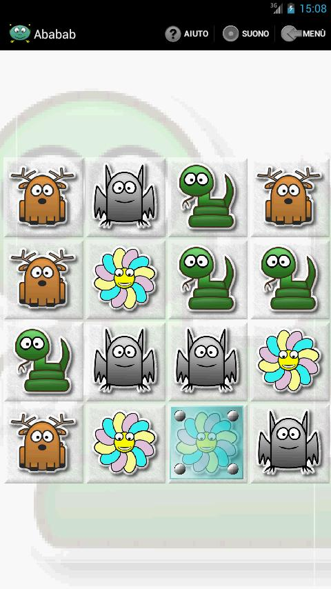 ABABAB SLIDING PUZZLE- screenshot