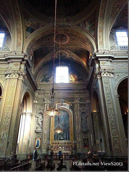 Cattedrale di San Giorgio interno2, Ferrara, Italia - St. George's Cathedral interior 2, Ferrara, Italy