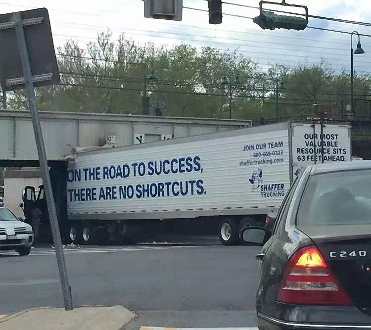 Không có đường tắt!
