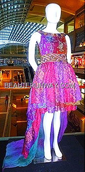 Alleira batik dress couture Marina Bay Sands Singapore