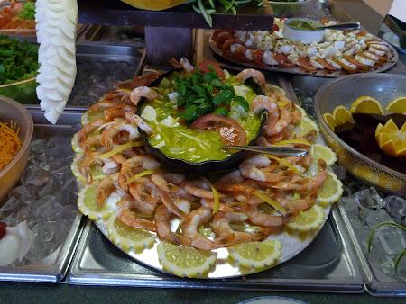 Restaurant Porto Santo: creveti de Madeira