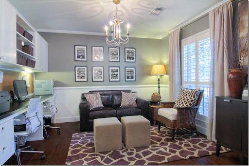 Formal Dining Room Into Office Part - 46: Turn Dining Room Into Bedroom
