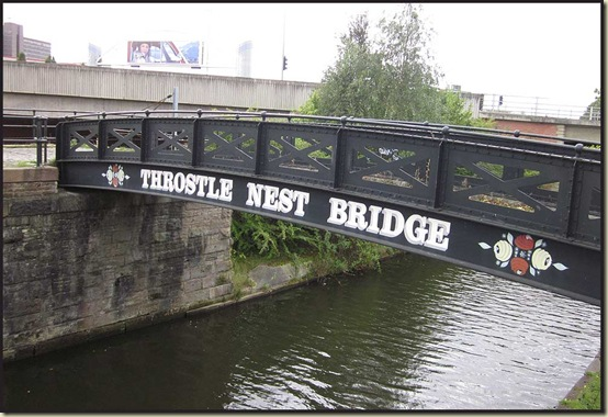 Throstle Nest Bridge - Old Trafford