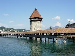 Pont de la Chapelle à Lucerne