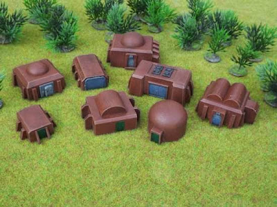 Brigade Models Release 10mm SF Buildings