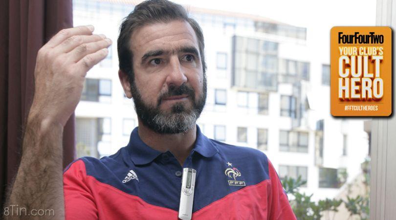 """Đội hình 11 huyền thoại """"trong mơ"""" của King Eric Cantona. Đảm"""