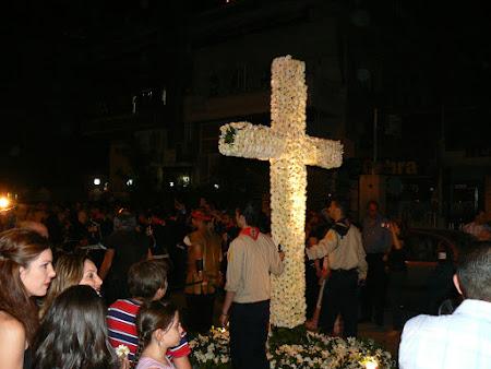 Traditii crestine Siria: procesiune Vinerea Mare Damasc