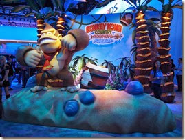 Donkey Kong Country Tropical Freeze, donkey se apresenta