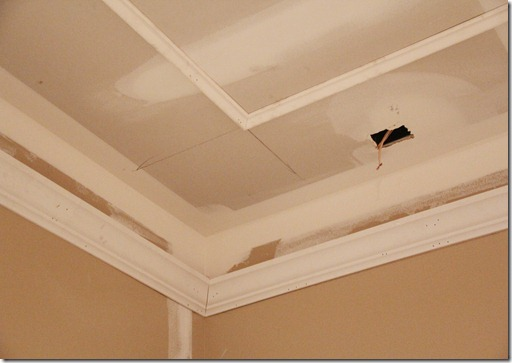 basement remodel theater room ceiling trim