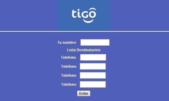 Mensajitos Tigo Colombia