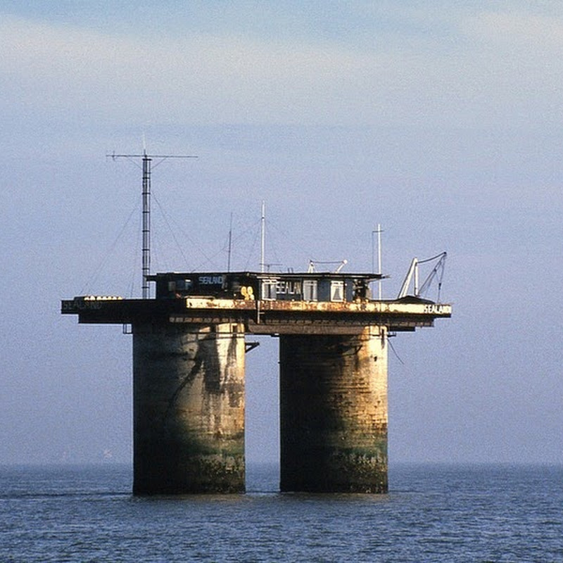 The Principality of Sealand, or How to Start Your Own Country