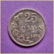 0.25 Francos Luxemburgo