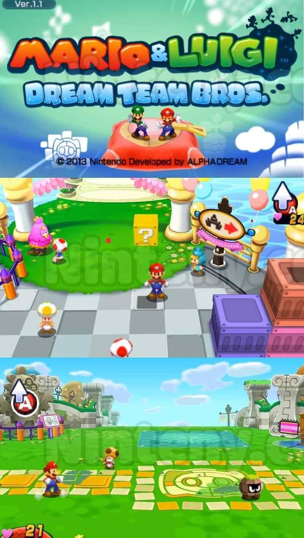 Mario Luigi Dream Team 3ds Decrypted Ninteny Com