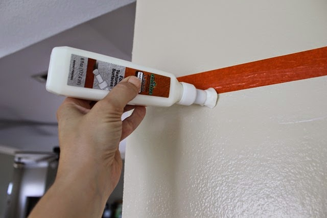 painting stripes with #frogtape