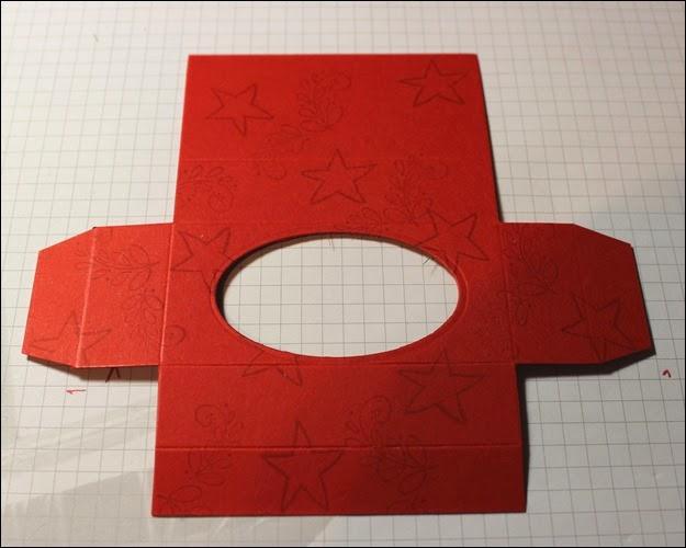 Teelichter Verpackung Schachtel Nikolaus Weihnachten Box selbstgemacht 5