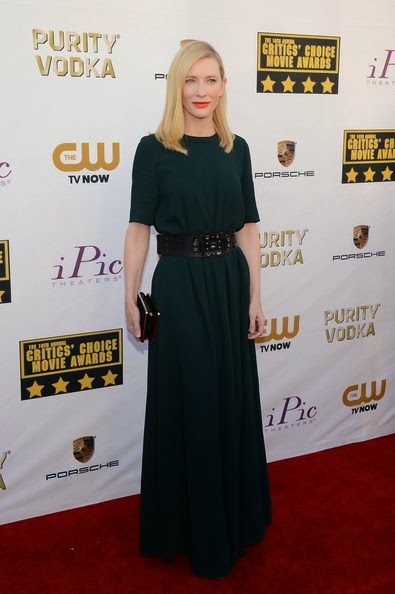 Cate Blanchett attends the 19th Annual Critics' Choice Movie Awards