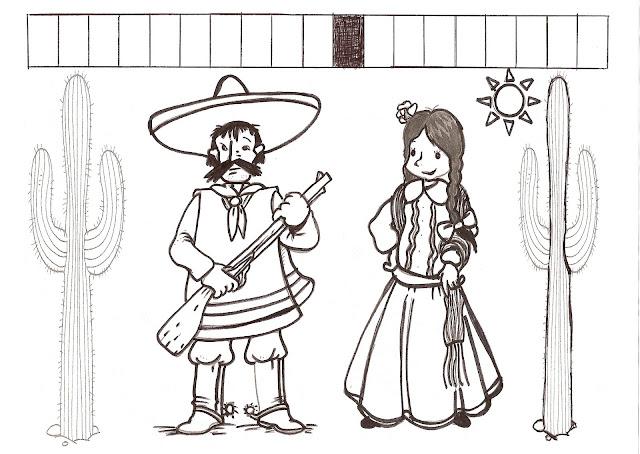 Dia 20 De Noviembre La Revolucion Mexicana Para Pintar