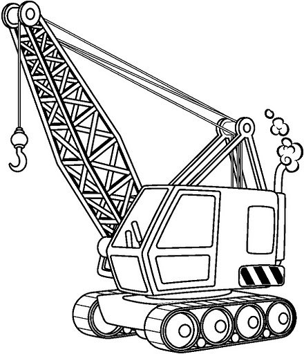 Crane Free Coloring Pages