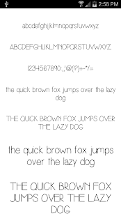 Fonts for FlipFont #18- screenshot thumbnail