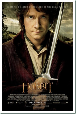 hobbit unexpected journey poster