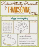 Kristen Duke Photography - Kids-Thanksgiving-Activity-Placemat-free-printable
