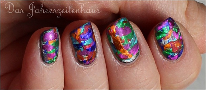 Nageldesign Faschingsnägel 8