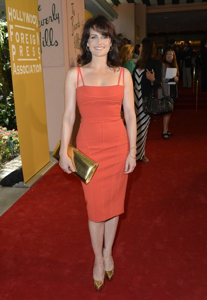 Carla Gugino Hollywood Foreign Press Association