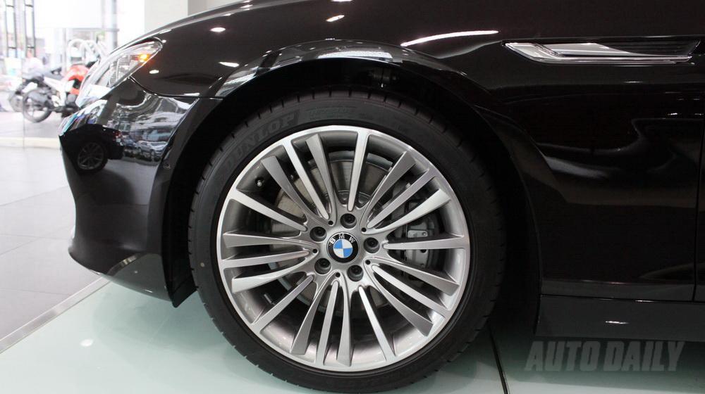 Xe BMW 640i Gran Coupe màu đen 06
