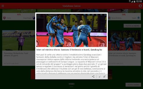 Vodafone Calcio - screenshot thumbnail