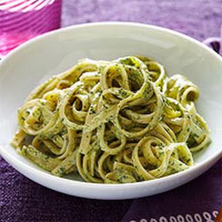 Kale Pesto Fettuccine