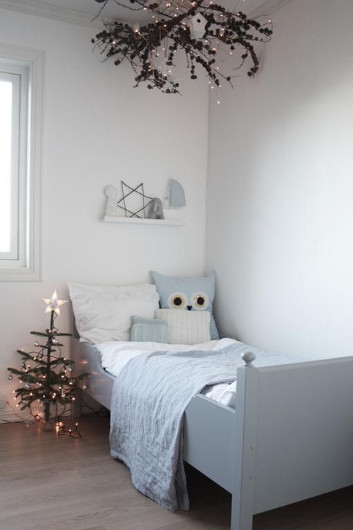 ideas dormitorio infantil navidad
